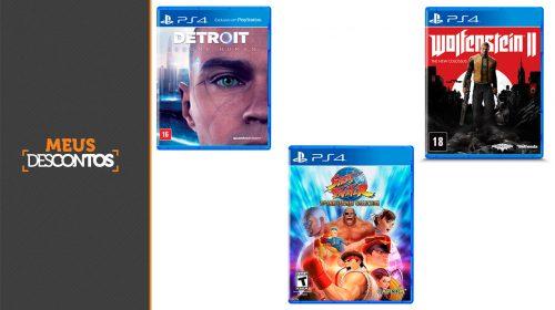 5 jogos de PS4 com excelentes ofertas neste fim de semana