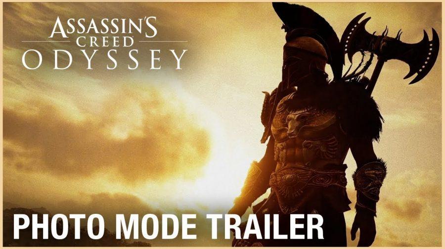 Novo trailer de Assassin's Creed Odyssey mostra fotos da comunidade