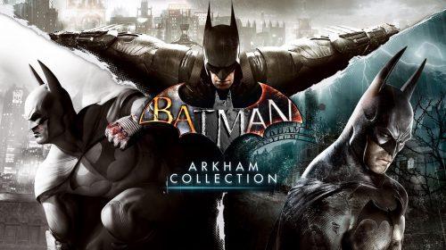 Batman: Arkham Collection é confirmado; Já disponível na PSN