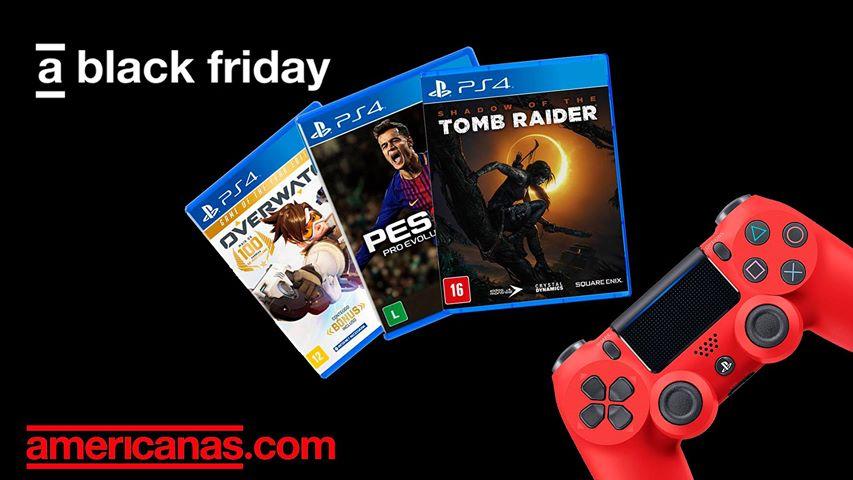 [Black Friday] Lojas Americanas: jogos de PS4 a partir de R$ 27