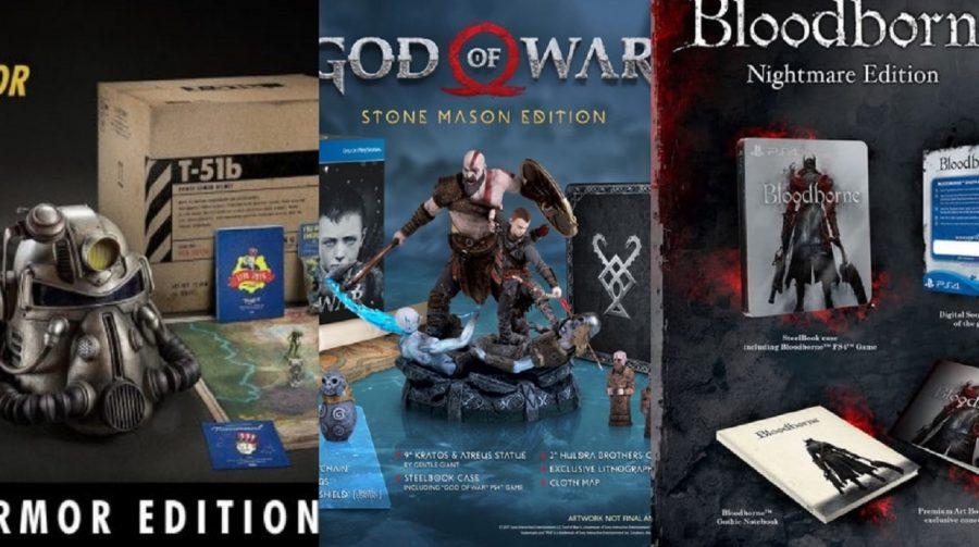 10 jogos de PS4 com edições de colecionador de cair o queixo