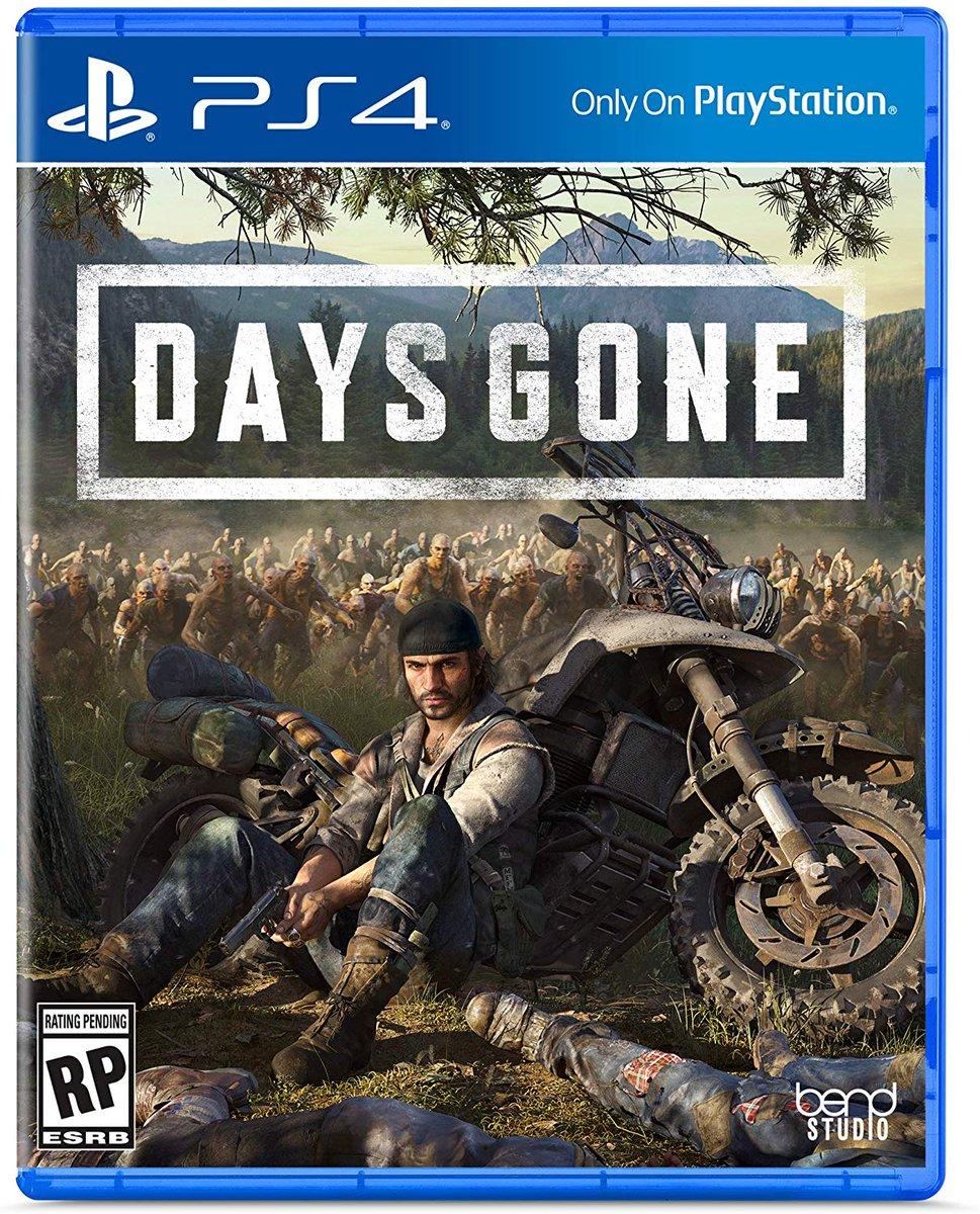 Sony Bend revela a capa oficial de Days Gone; confira 1