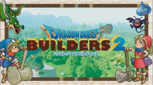 Dragon Quest Builders 2 terá crossplay, confirma Square Enix