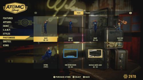 Fallout 76 introduz sistema de customização dos personagens