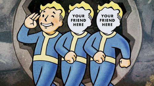 Fallout 76: jogadores da beta ganham códigos para convidar amigos