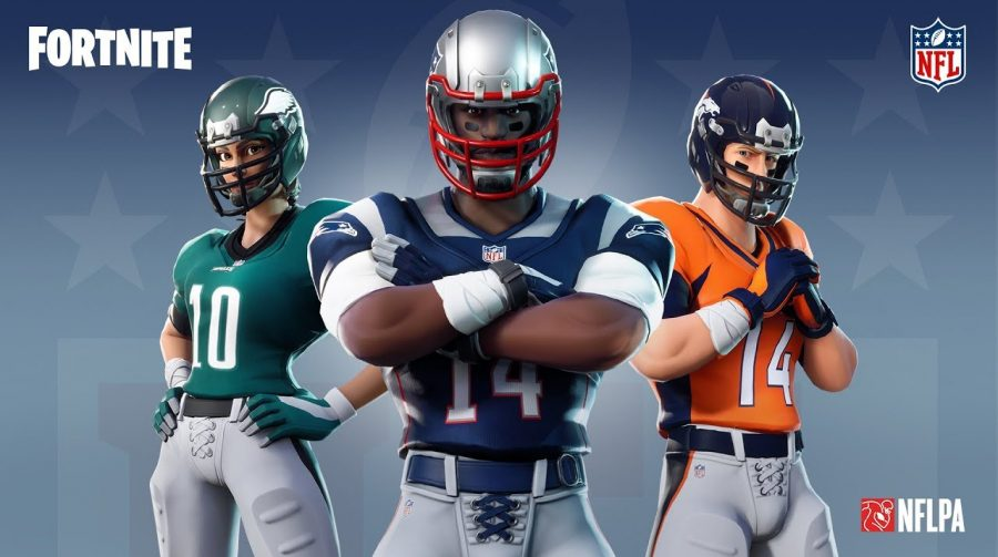Fortnite anuncia parceria com NFL e terá itens da liga a partir de sexta