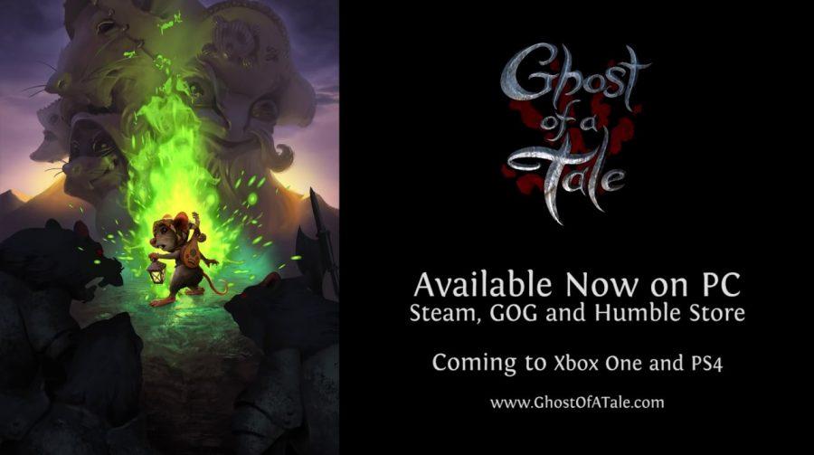 Furtivo e artístico, Ghost of a Tale chegará em 2019 para o PS4