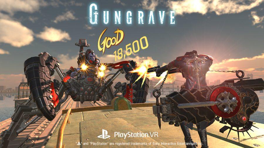 Shooter Gungrave VR chegará ao PS4 em 07 de dezembro; saiba mais