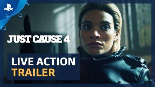 Just Cause 4 recebe explosivo (e cômico) trailer em live-action; assista