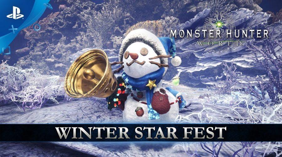 O Natal chegou ao Monster Hunter: World! Jogo recebe evento de inverno