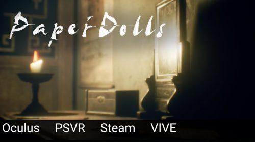 Você aguenta? Paper Dolls é o novo jogo de terror para o PSVR