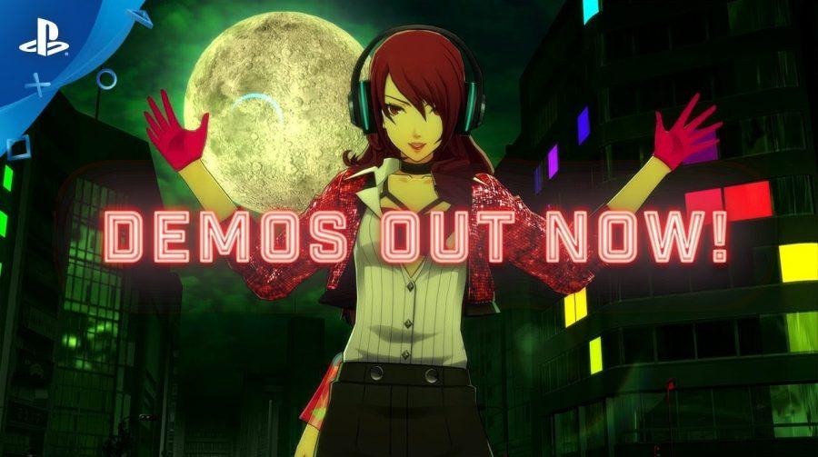O DJ mandou! DEMOS de Persona 3 e Persona 5 estão disponíveis