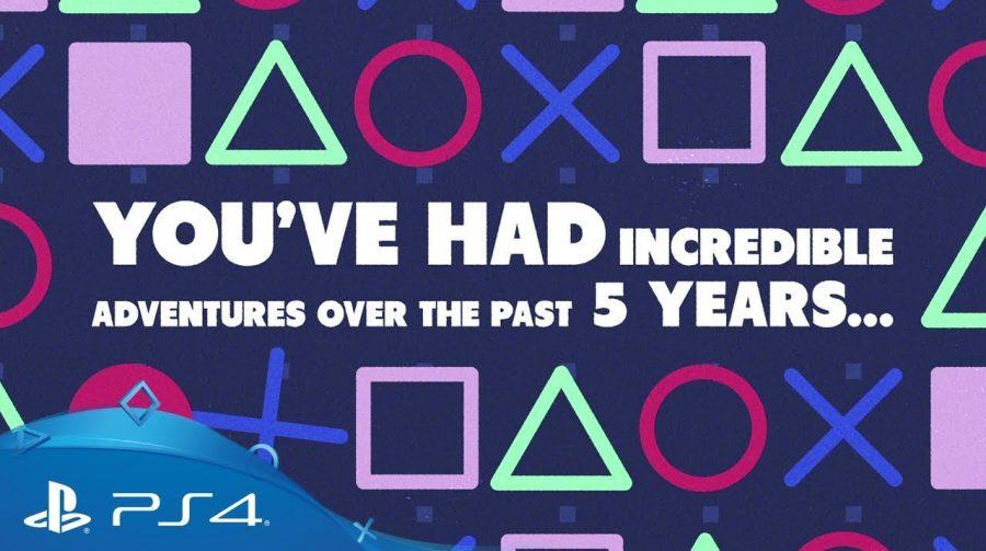 Feliz aniversário PS4! Sony revela vídeo com estatísticas dos exclusivos