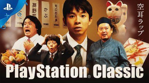 PlayStation do Japão promove comercial bizarro do PlayStation Classic