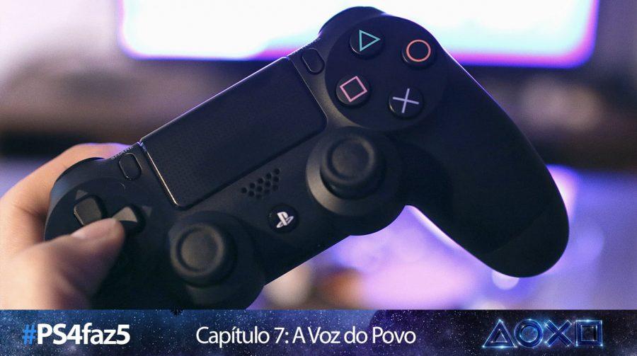 [#PS4faz5]: leitores do MeuPS4 contam suas experiências com o console
