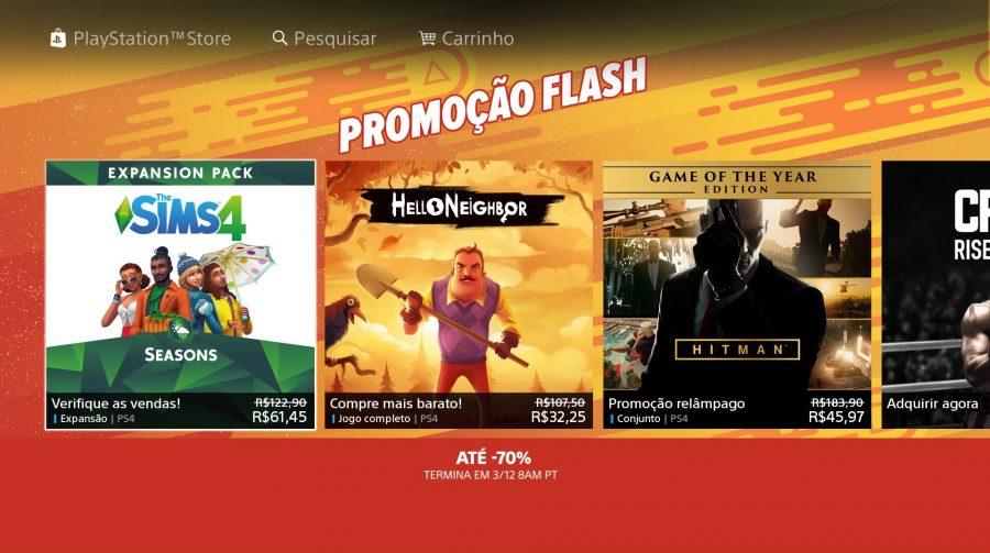 [Promoção] Sony baixa preços de jogos na PSN com a
