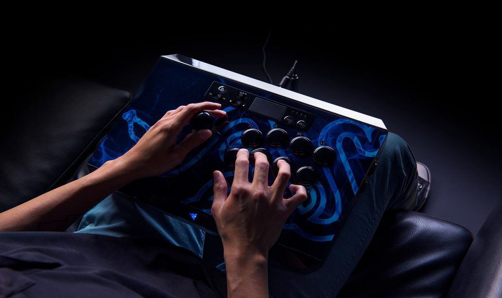 Razer Panthera Arcade - Jogando