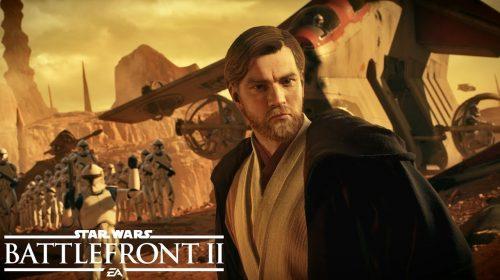 Star Wars: Battlefront II: DLC Battle of Geonosis adiciona Obi-Wan