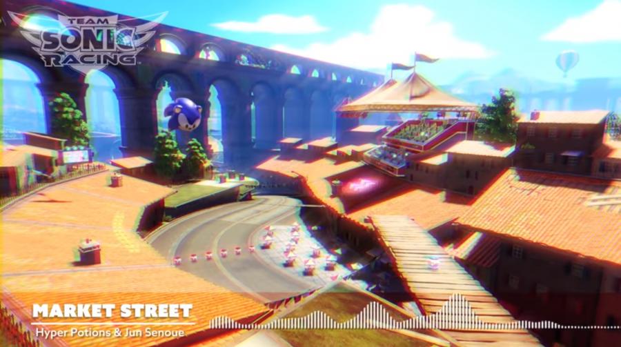 Team Sonic Racing: SEGA divulga música da fase Market Street