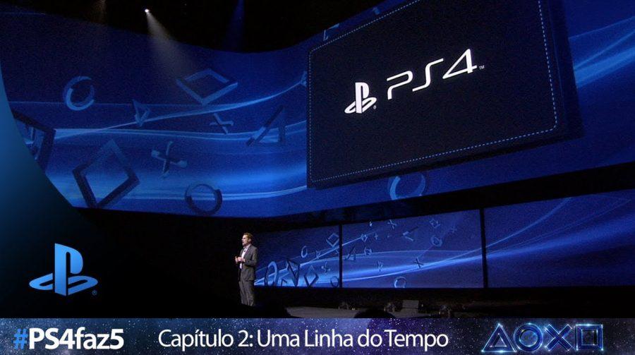 [#PS4faz5]: uma linha do tempo dos cinco anos de PlayStation 4