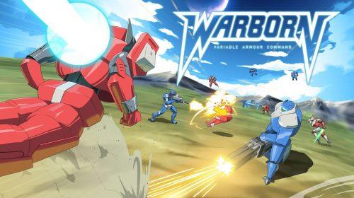 Warborn, jogo mecha de estratégia em turnos, é anunciado para o PS4