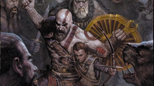 Confira duas páginas da HQ prólogo de God of War