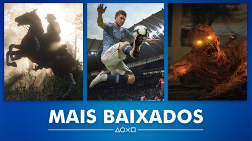 Sony revela os jogos mais baixados na PSN no mês de outubro