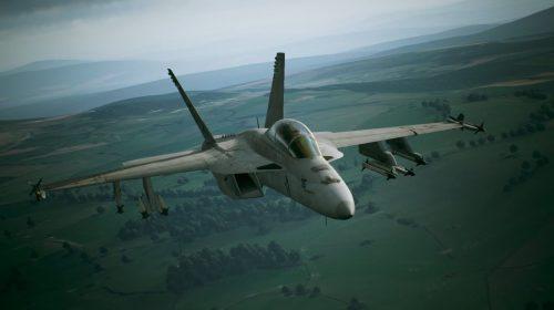 Novos vídeos de Ace Combat 7 mostram os caças Typhoon e F-18