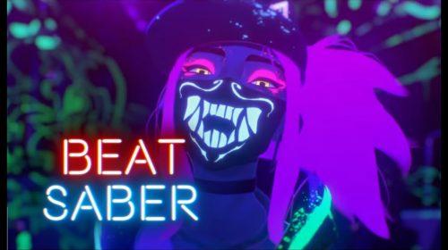 Música K-POP de League of Legends é adicionada em Beat Saber