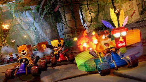 Crash Team Racing Nitro-Fueled entra em pré-venda na PSN