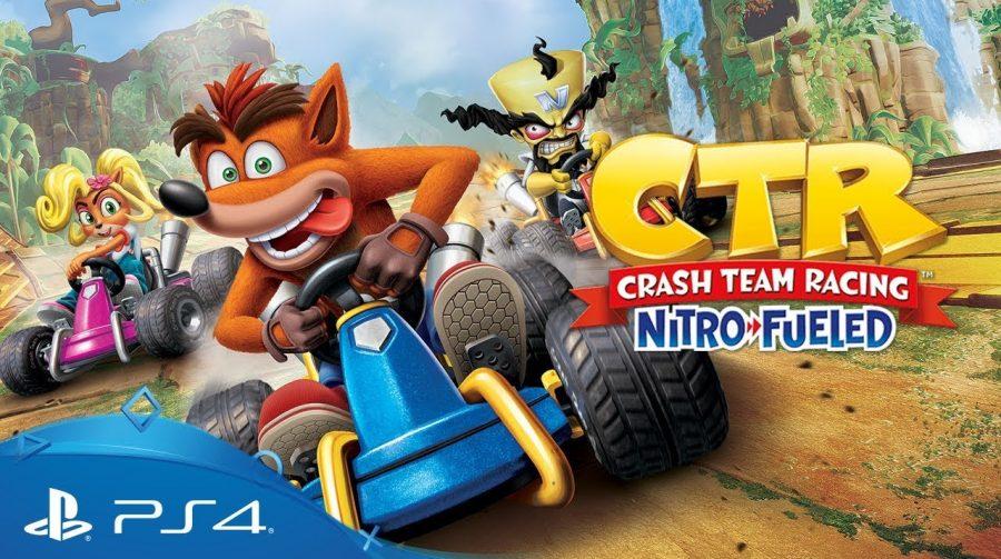 Crash Team Racing Nitro-Fueled contará com novos karts e pistas inéditas