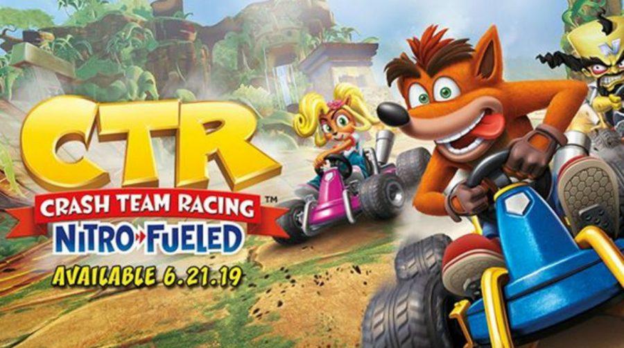 Crash Team Racing Nitro-Fueled: veja lindo tema dinâmico do PS4