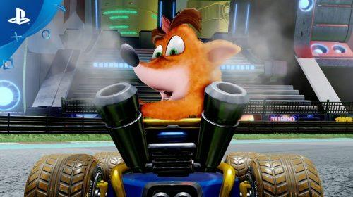 Sonho realizado! Crash Team Racing Nitro Fueled é anunciado para PS4