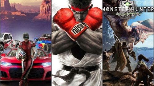 The Crew 2, Street Fighter V e Monster Hunter World ganham testes grátis