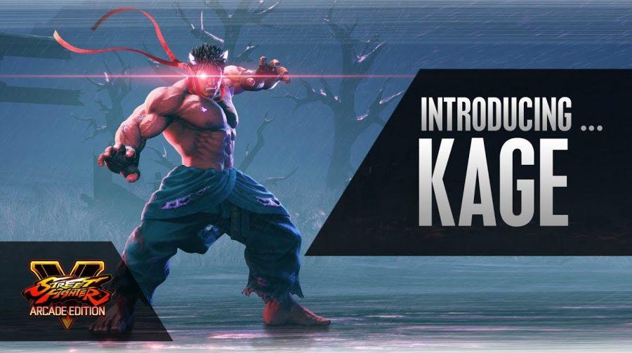 Novos vídeos mostram habilidades de Kage, novo lutador de Street Fighter V