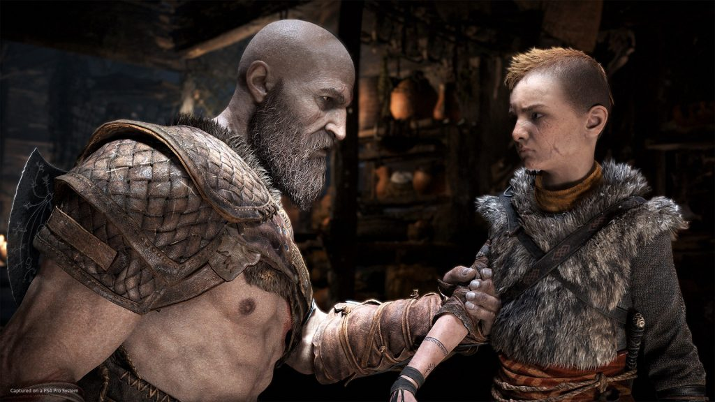 PlayStation 4: Kratos e Atreus