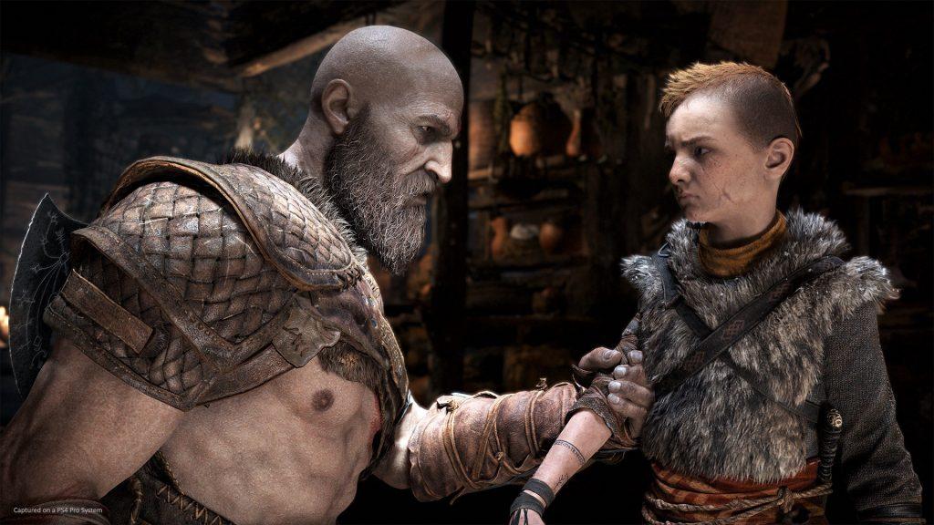 PlayStation 4: Kratos e Atreus