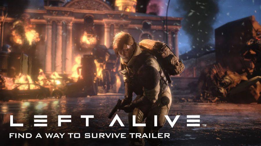 Left Alive: Square Enix mostra sobrevivência e confrontos intensos; assista