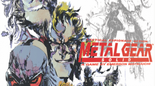 Konami anuncia Metal Gear Solid: The Board Game com a IDW Games