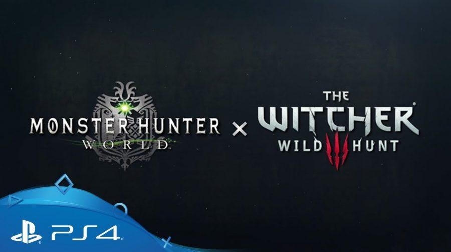 Geralt de The Witcher 3 em Monster Hunter World; Capcom revela novidades