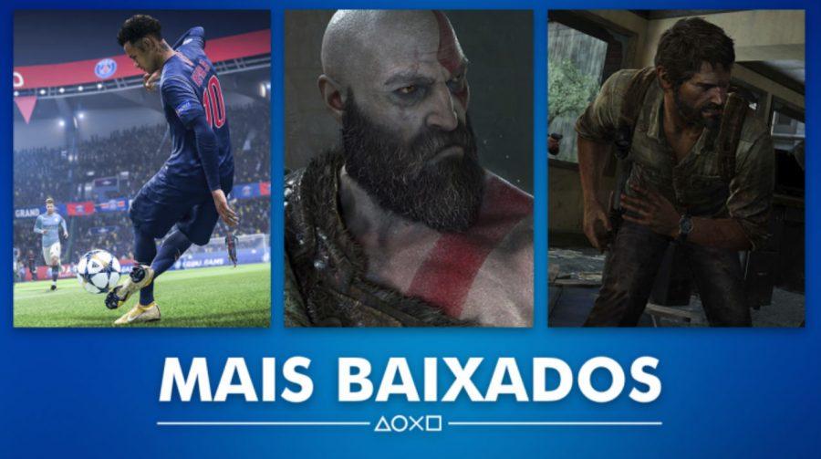 FIFA 19 e God of War na lista dos