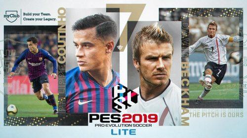 PES 2019 Lite, versão gratuita do PES, já disponível; baixe aqui