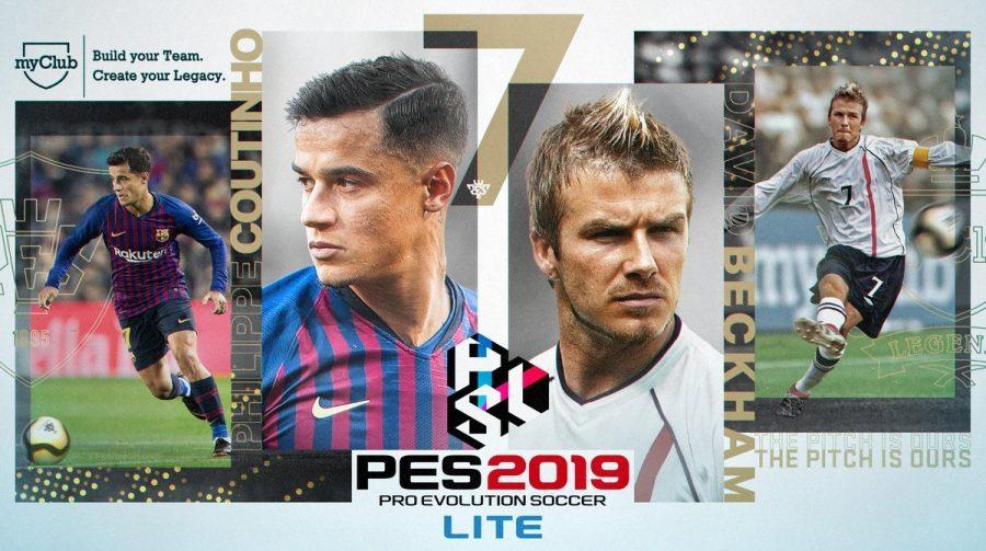 PES 2019 LITE, versão gratuita do PES, chega em 13 de dezembro, diz Konami