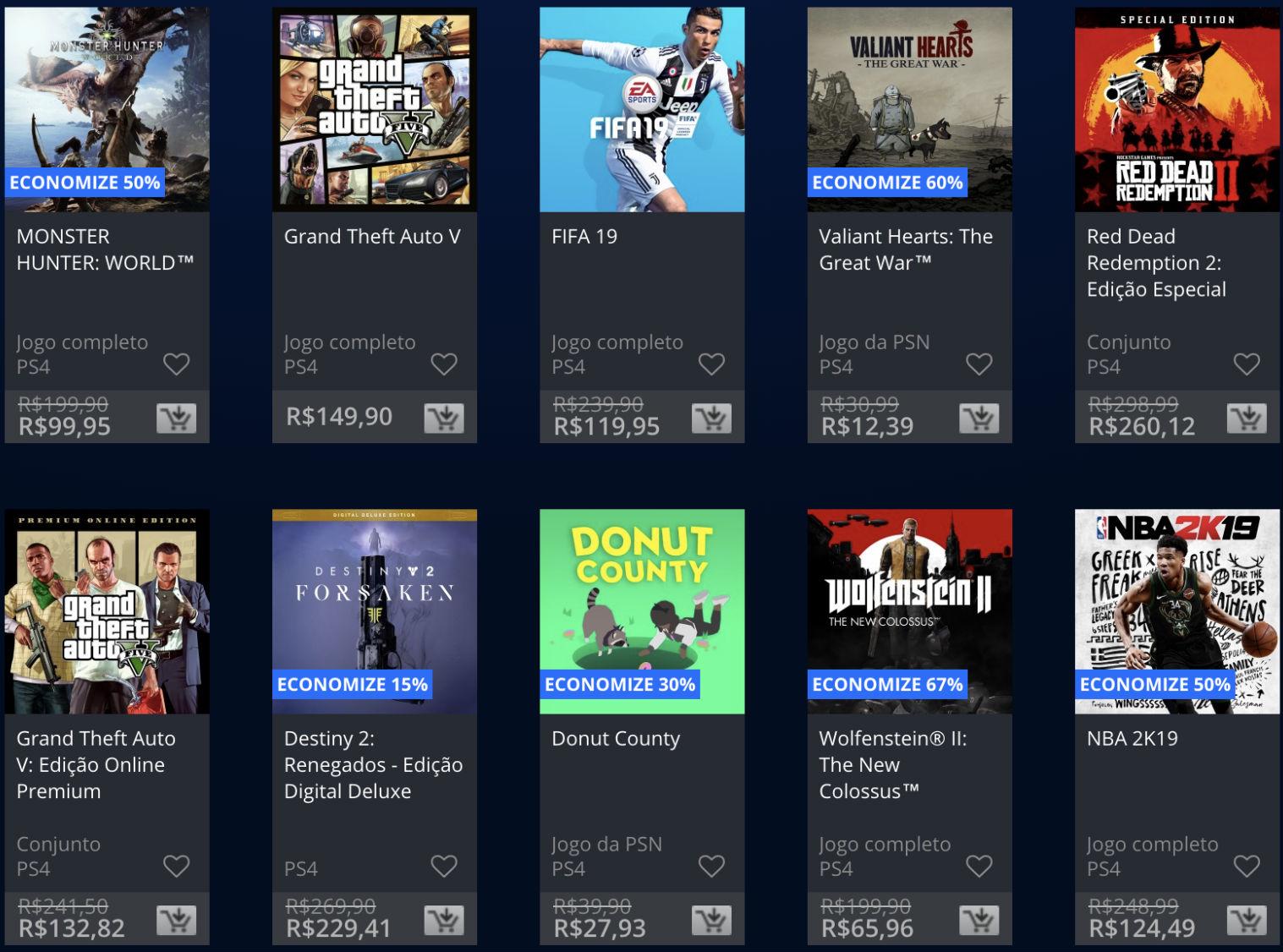 Sony lança promoção The Game Awards na PSN; veja jogos e preços 7
