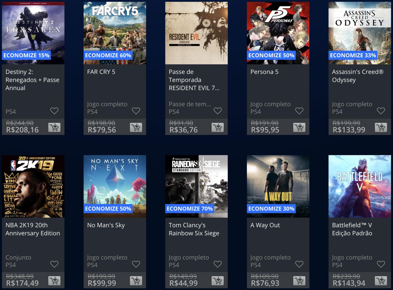 Sony lança promoção The Game Awards na PSN; veja jogos e preços 8