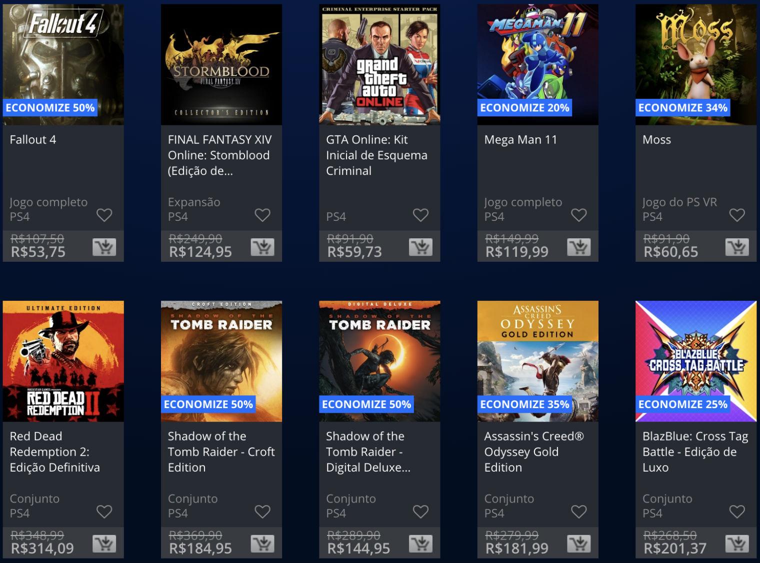 Sony lança promoção The Game Awards na PSN; veja jogos e preços 2