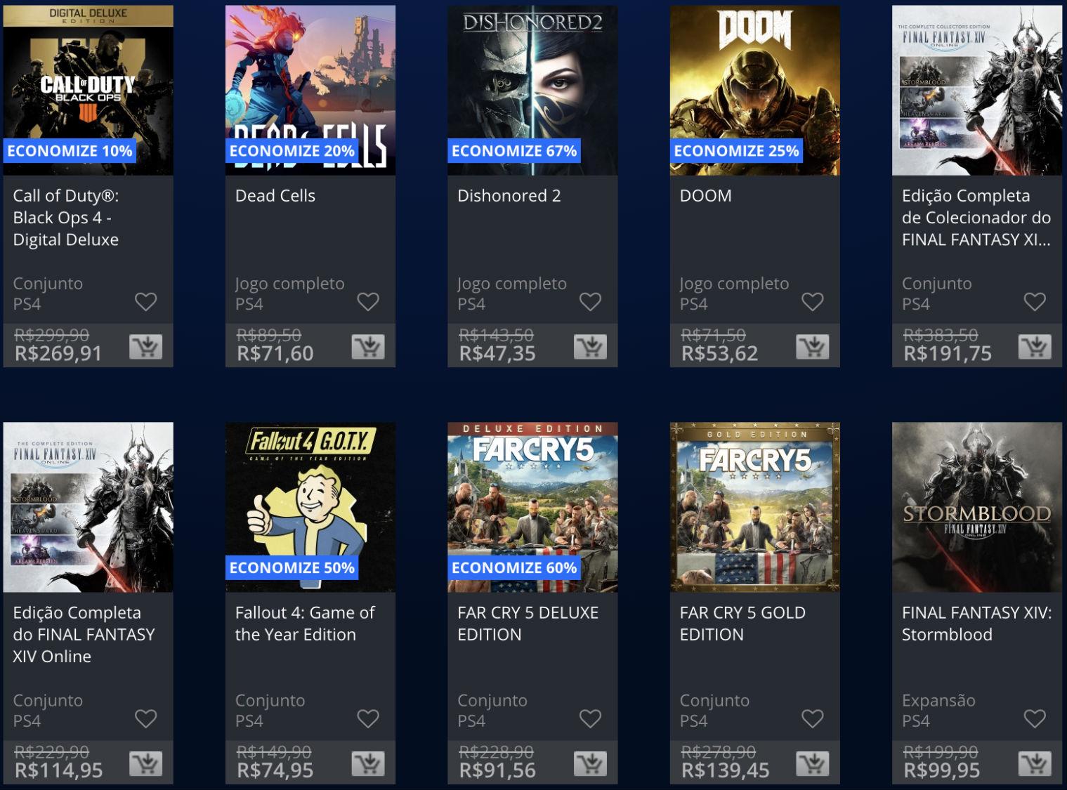 Sony lança promoção The Game Awards na PSN; veja jogos e preços 3