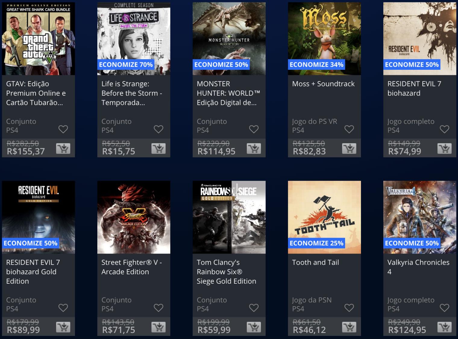 Sony lança promoção The Game Awards na PSN; veja jogos e preços 4