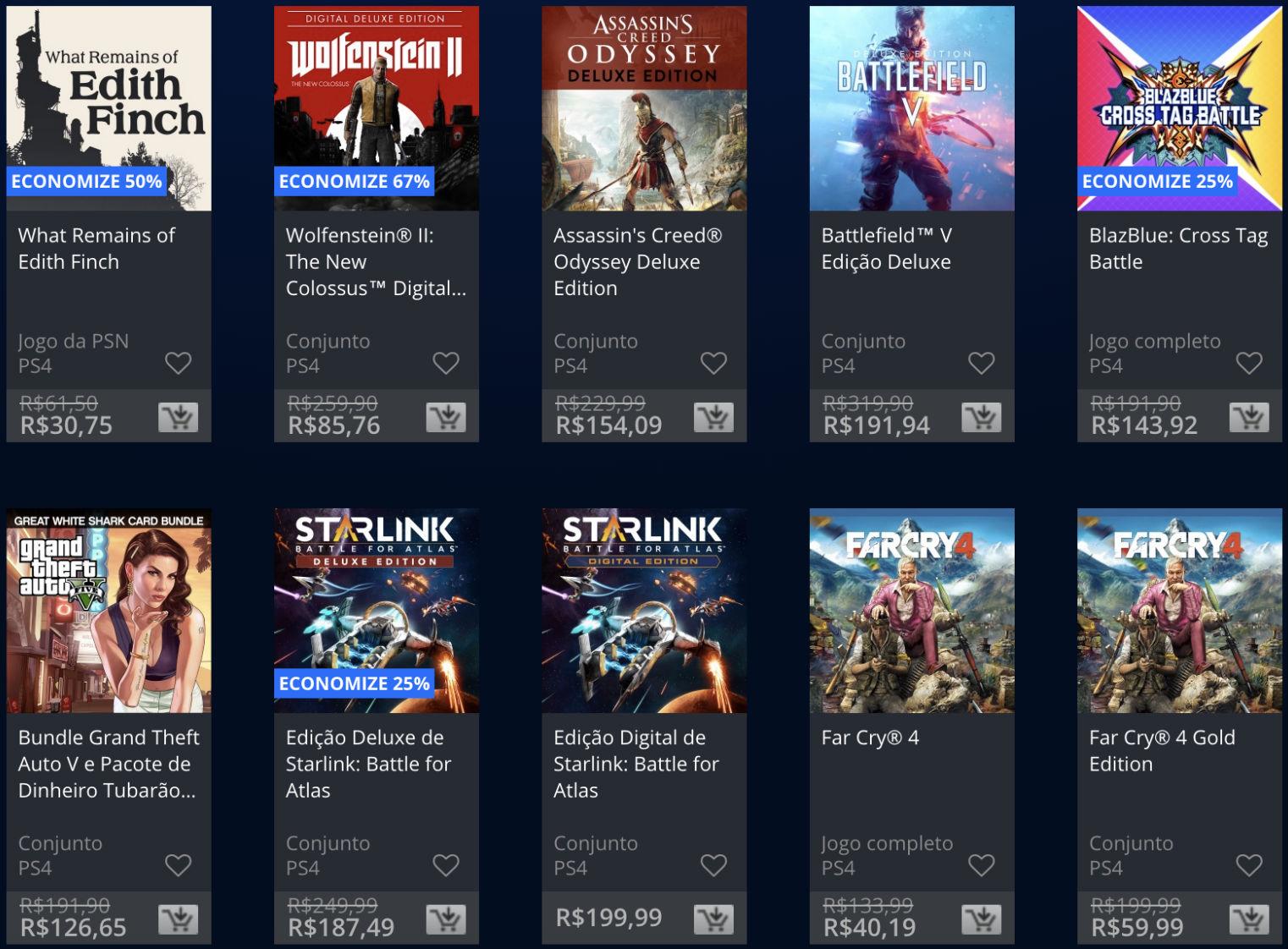 Sony lança promoção The Game Awards na PSN; veja jogos e preços 5