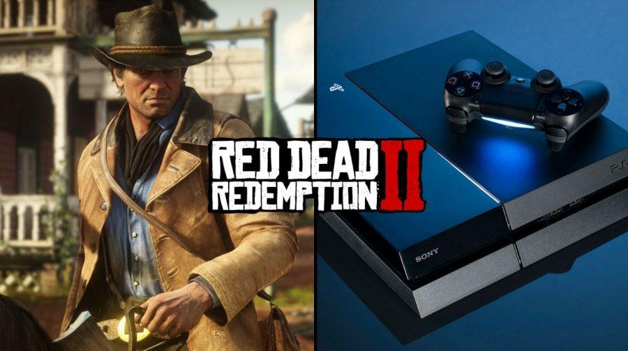 Red Dead Redemption 2 e o PS4 lideram vendas em novembro nos EUA